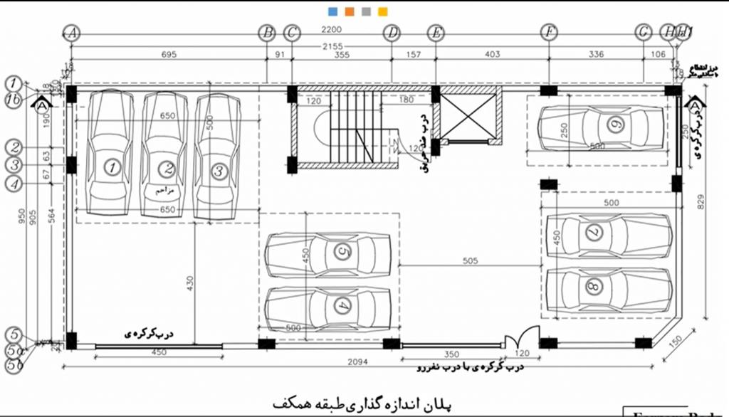 پلان پارکینگ در آموزش ایتبس و سیف