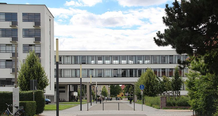 نمونه ای سبک معماری باهاوس